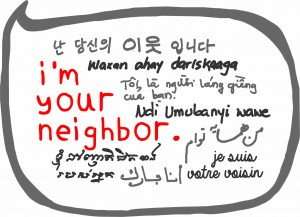 We are launching I'm Your Neighbor Portland, May 25, at the Portland Public Library. Are you in Maine? Please come.