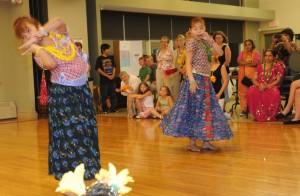 Bhutanese girls dance a story about friendship