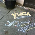 YWCAWWV Sidewalk