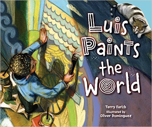 Luis Paints the World with Terry Farish (Register Gr 1-5) – Wednesday, October 19th @ 6:30