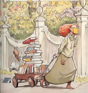 ALA The Library illus